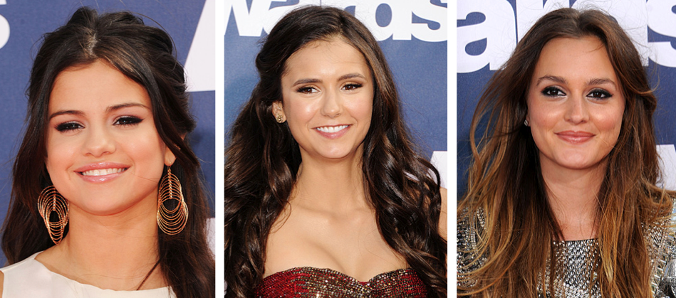 mtv movie awards brunette celebrities