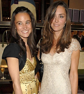 Kate and Pippa middleton fashion