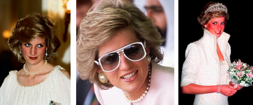 princess diana pearl jewelry