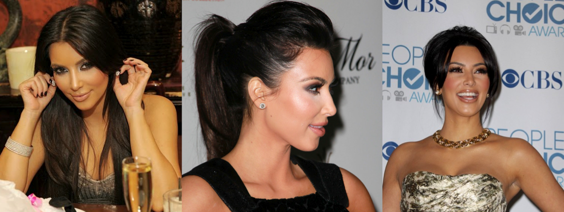 kim kardashian stud earrings