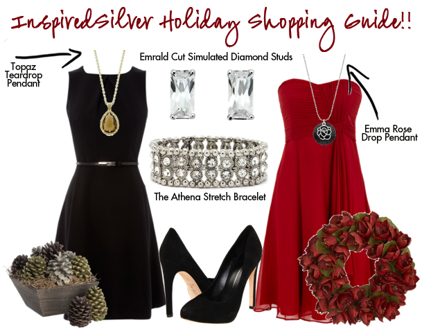 Inspired Silver Holiday Outfits