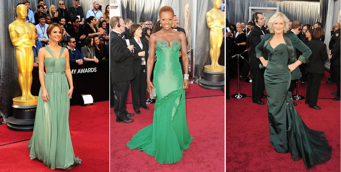 Academy Awards 2012 Fashion