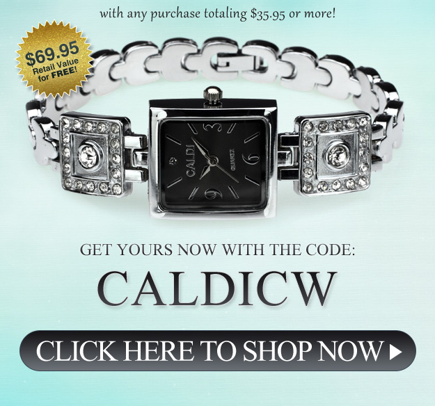 free caldi watch at inspired silver