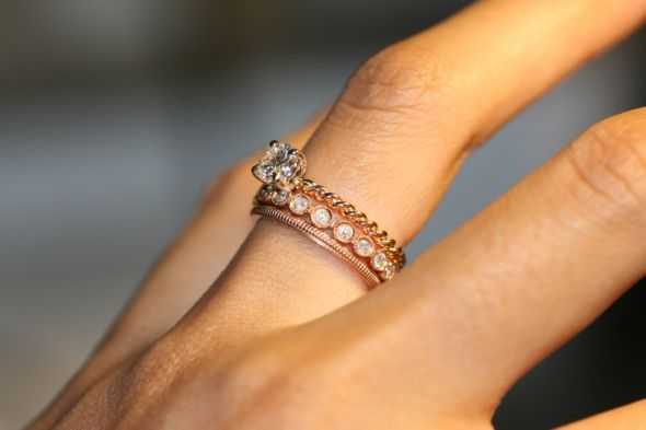 9 Ring Sale Stackable Rings we Love Inspired Silver