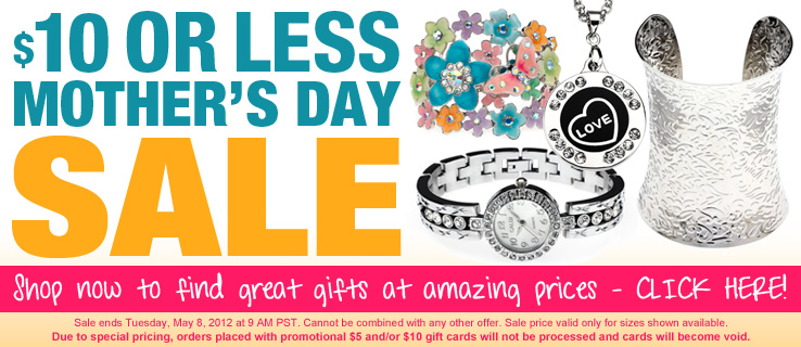 $10 or less mothers day sale