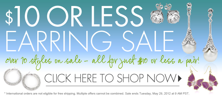 Shop Our 10 Or Less Earring Sale Inspired Silver