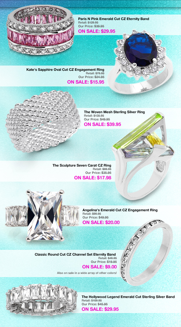 cocktail ring sale