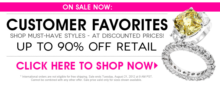 customer favorites sale at inspired silver