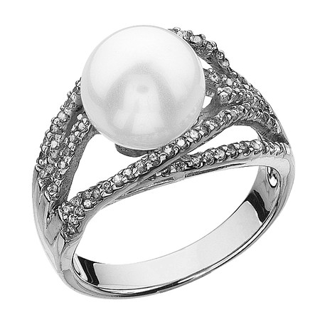 The Shell Pearl Cocktail Ring