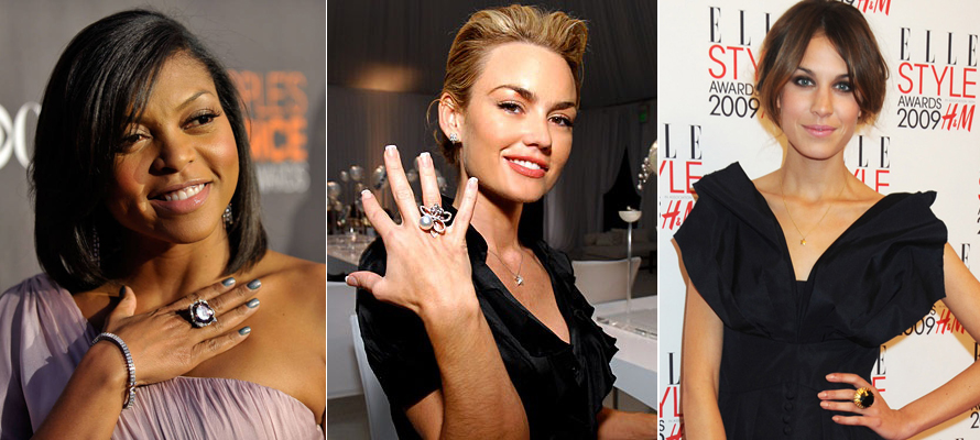 celebrity right hand rings