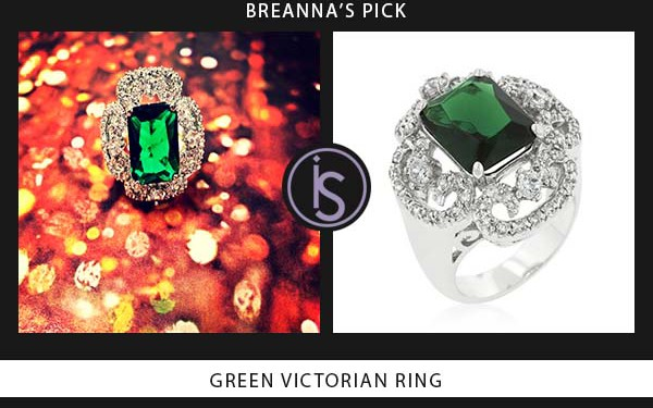 Green Victorian Ring