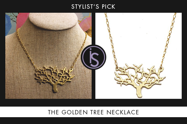 The Golden Tree Necklace