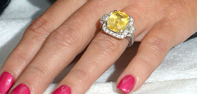 Jenny Mccarthy S Engagement Ring Inspired Silver