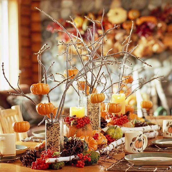 Thanksgiving Home Decoration Ideas  Inspired Silver